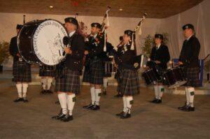 City of Basel Caledonia Pipe Band
