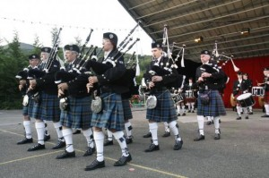 Le Dalhousie Pipes Band of Basel