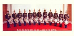 Pupitre des Tambours de la Garde Républicaine de Paris