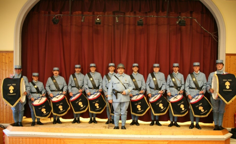 tambours alsace commemoration grande guerre